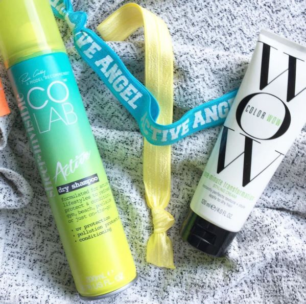 Wake Up, Work Out! 💪 COLAB Active with added UV & Pollution Protection saves the day, pre or post workout. #COLAB #DryShampoo #COLABActive #HairHacks #GymLife #HairEssentials #ukbbloggers #ModelRecommends  (📸 A Model Recommends 💋)  Available Superdrug feelunique.com BeautyMart UK Cloud 10 Beauty ASOS