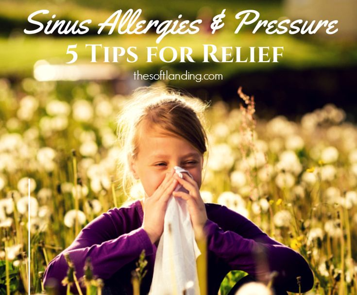 The weather is warming, but there are natural steps you can take for preventing or relieving sinus allergies and pressure so that you can go on with life.