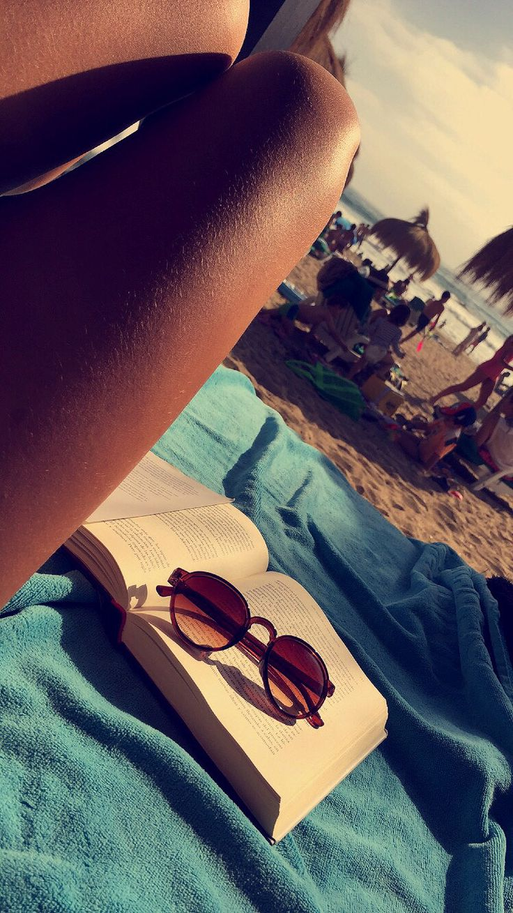 Nothing better than reading a book at the beach
