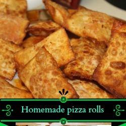 Kid approved!! Homemade pizza rolls! YUM! | Recipes | Pinterest