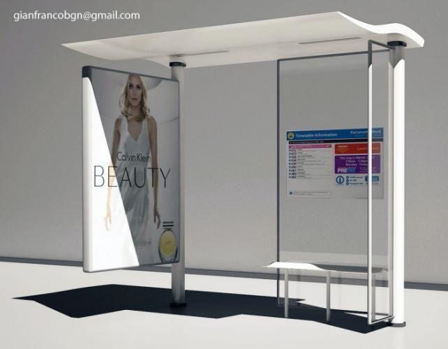 urban bus station designs | ... - gianni - sample 2 - Urban design - bus stop (click for next image