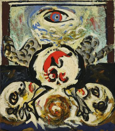 Bird, 1941 by Jackson Pollock, Early works. Expressionism. figurative. Museum of Modern Art, New York, USA