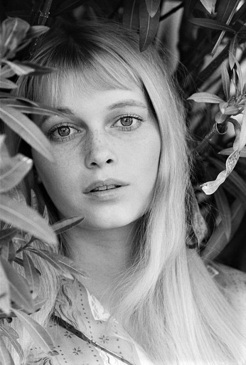 Mia Farrow photographed by Harry Benson, 1964.