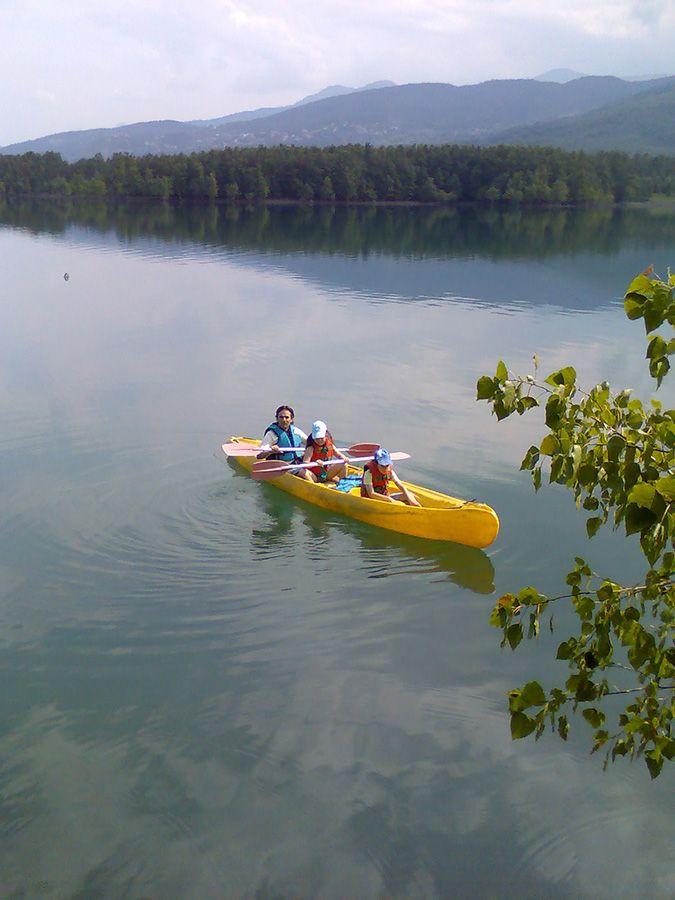 Lake Plastira in Karditsa, Thessaly_ Central Greece