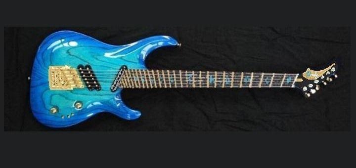 My Dream Custom Electric Guitar Mock-up