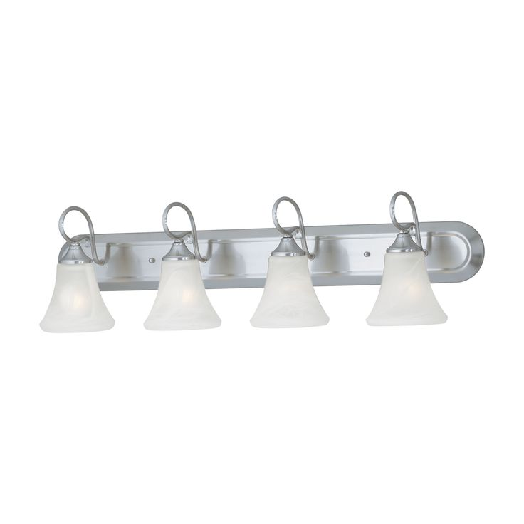 Thomas Lighting SL744478 Elipse Collection Brushed Nickel Finish Transitional Wall Sconce