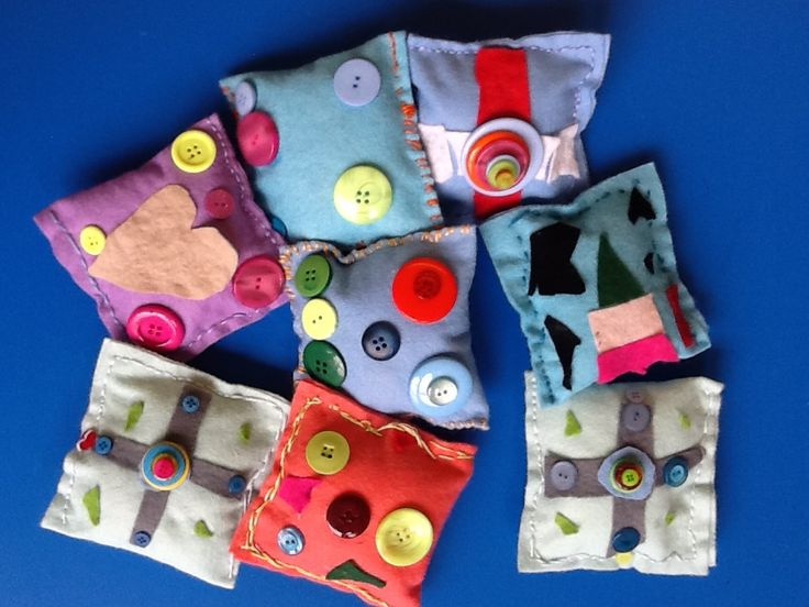 Lavender cushions by my very talented year 1 and 2 pupils