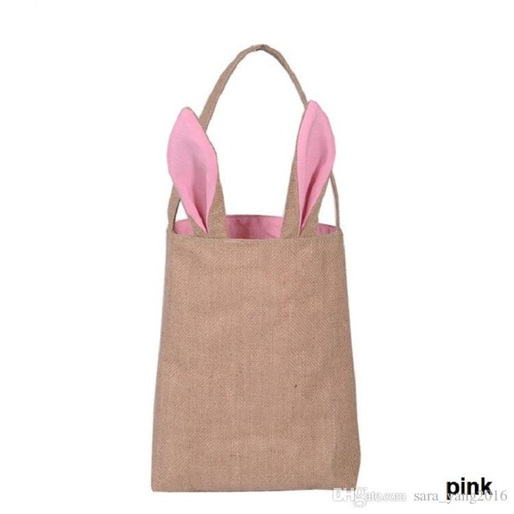 Wholesale New Cute Burlap Easter Tote Jute Easter Bunny Bag With Bunny Ears Easter Baskets Wa2463 Decoration Of Birthday Decoration Of Birthday Party From Sara_yang2016, $2.66| Dhgate.Com