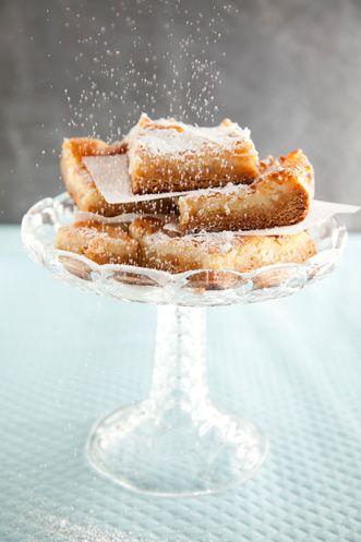 Paula Deen Gooey Butter Cake. Ooey gooey goodness!