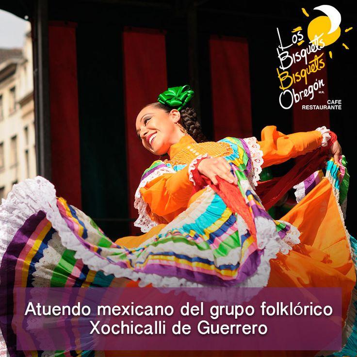 #TrajesTípicos #Xochicalli  #Guerrero #BisquetsObregón #LBBO