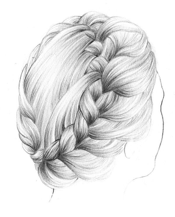 Именем, прикольные косы рисунки