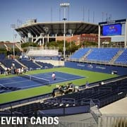 The US Open tennis