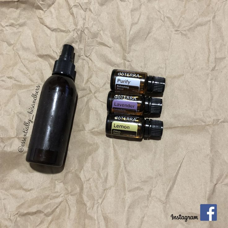 Linen spray  15-20 drops of each oil  Fill with water  So refreshing  @essentially__hisandhers
