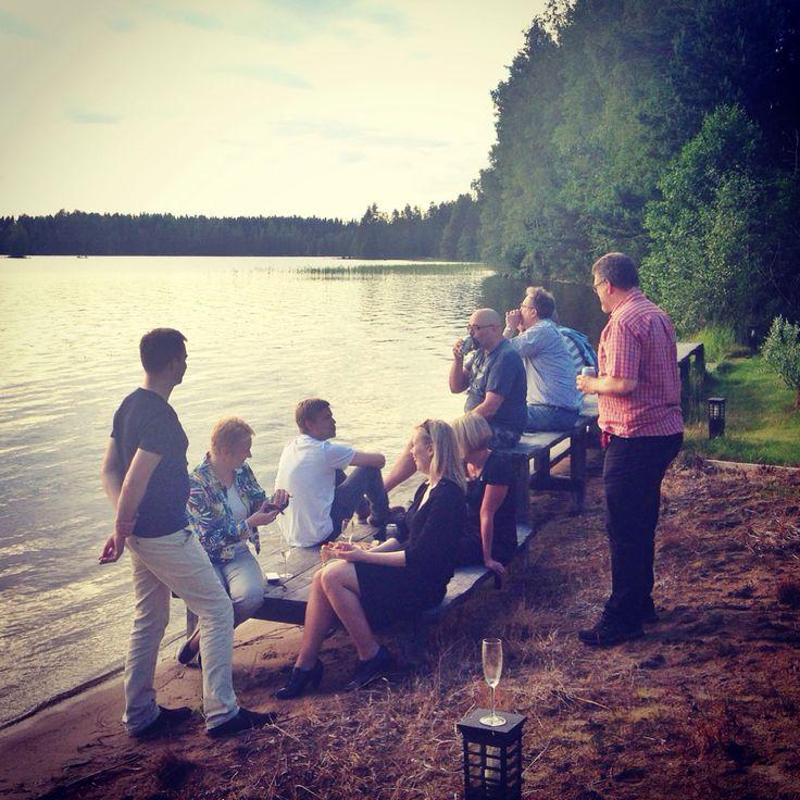 Tamoran kesäpäivillä nautitaan hyvästä seurasta ja tavattoman hyvistä onnistumisista yhdessä. Lahdelma, heinäkuu 2014.
