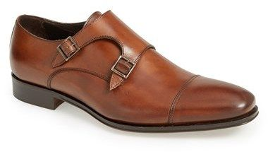 $395, New York Grant Double Monk Shoe by To Boot. Sold by Nordstrom. Click for more info: http://lookastic.com/men/shop_items/143746/redirect