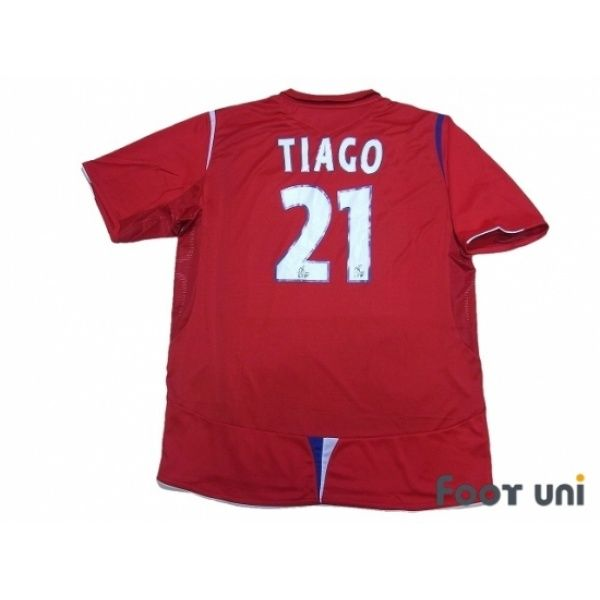 Photo2: Olympique Lyonnais 2006-2007 Away Shirt #21 Tiago umbro - Football Shirts,Soccer Jerseys,Vintage Classic Retro - Online Store From Footuni Japan