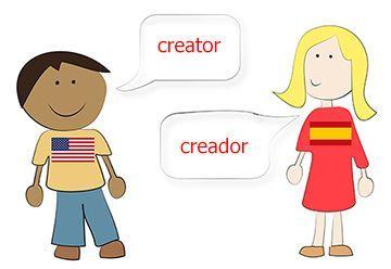 how to speak spanish using english words