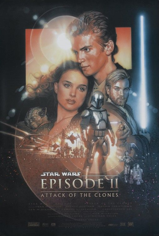 Star Wars Episode 2: Attack of the Clones Movie Poster