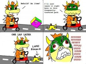 Rage Comics – Mario Kart