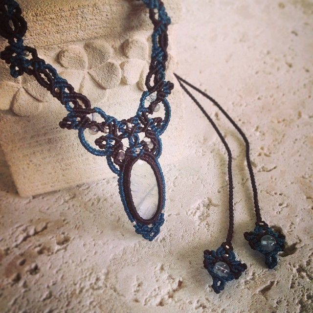 Macrame Jewelry MANO @macrame_jewelry_mano 今日のマクラメ。...Instagram photo | Websta (Webstagram)