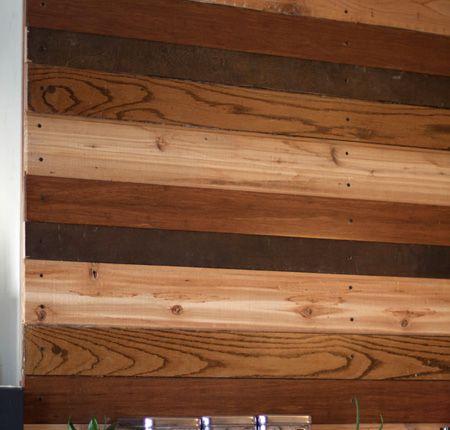 отделка стен в квартире деревом