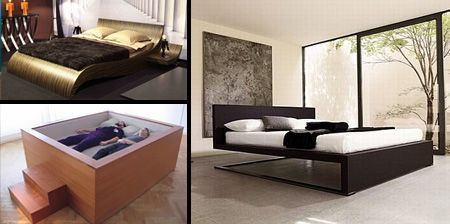 The 25 best contemporary bed frames ideas on pinterest contemporary beds and headboards - Funky bed frames ...