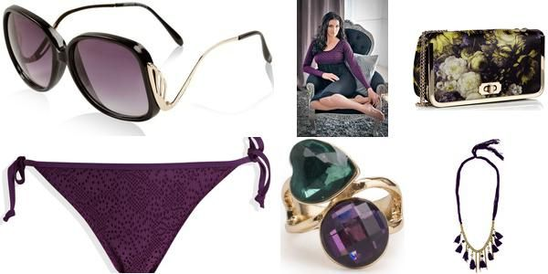 """Purple Empress"" Awesome list on #neckpieces #slingbags by @Meghan Mazzola.vij0gmail.com #fashion"