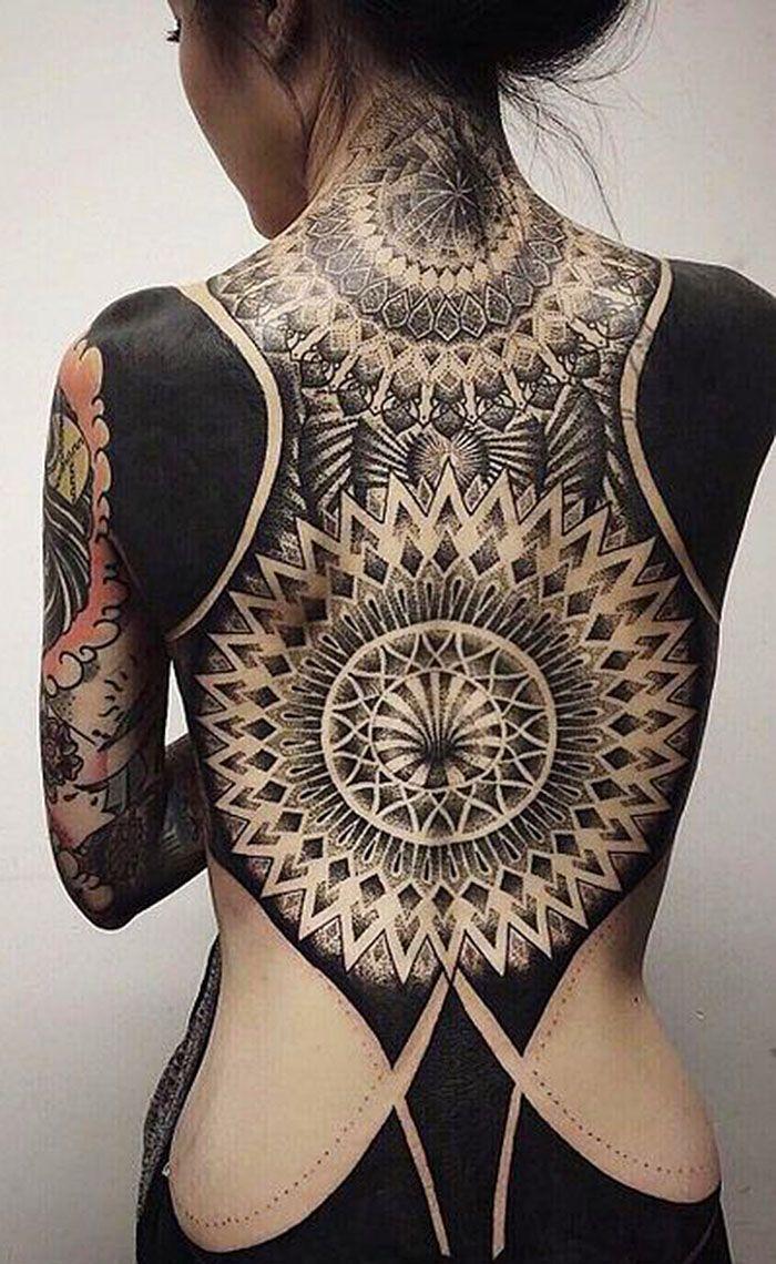 Best 25 full back tattoos ideas on pinterest angel back for Blackout tattoo back