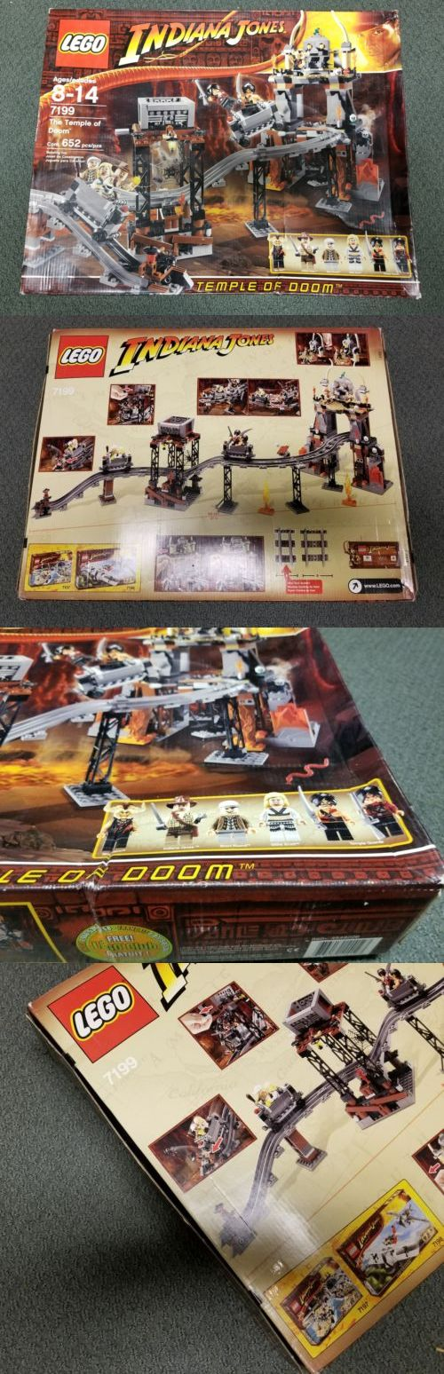 LEGO Complete Sets and Packs 19006: Indiana Jones Lego 7199 The Temple Of Doom ~ Brand New, Factory Sealed -> BUY IT NOW ONLY: $220 on eBay!