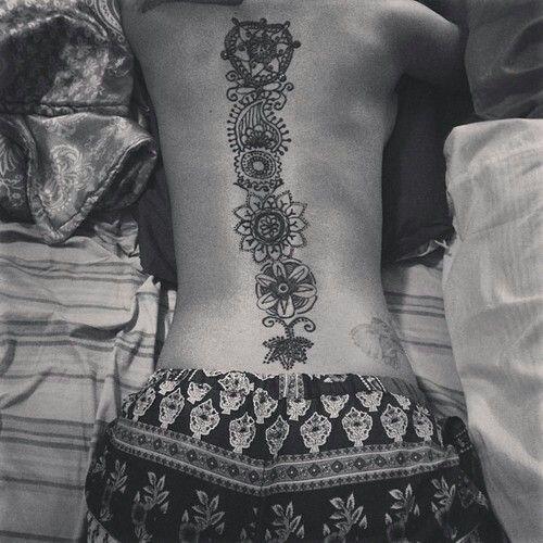 Bohemian tattoo; amazing...