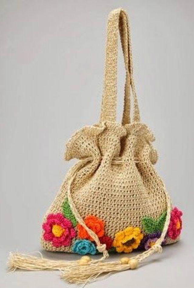 Como Fazer Bolsa De Croche Passo A Passo 37 Fotos In 2020 Tote