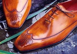 Berluti:  Not all shoes can really be as shiny as this Berluti, especially the Rapieces Reprises style. $1,830.