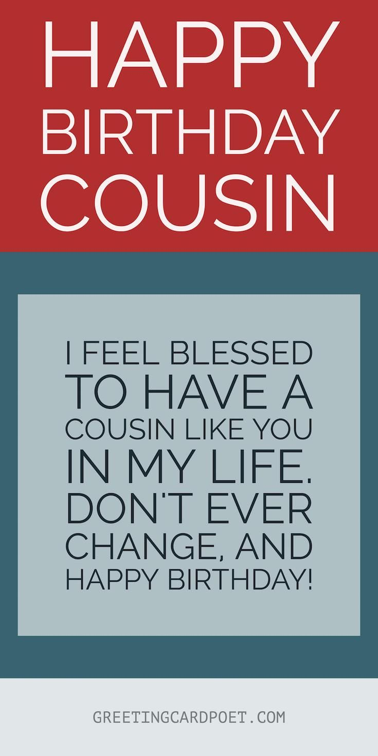 Happy Birthday Cousin Quotes 10 Best Birthday Wishes Greetings And Messages Images On
