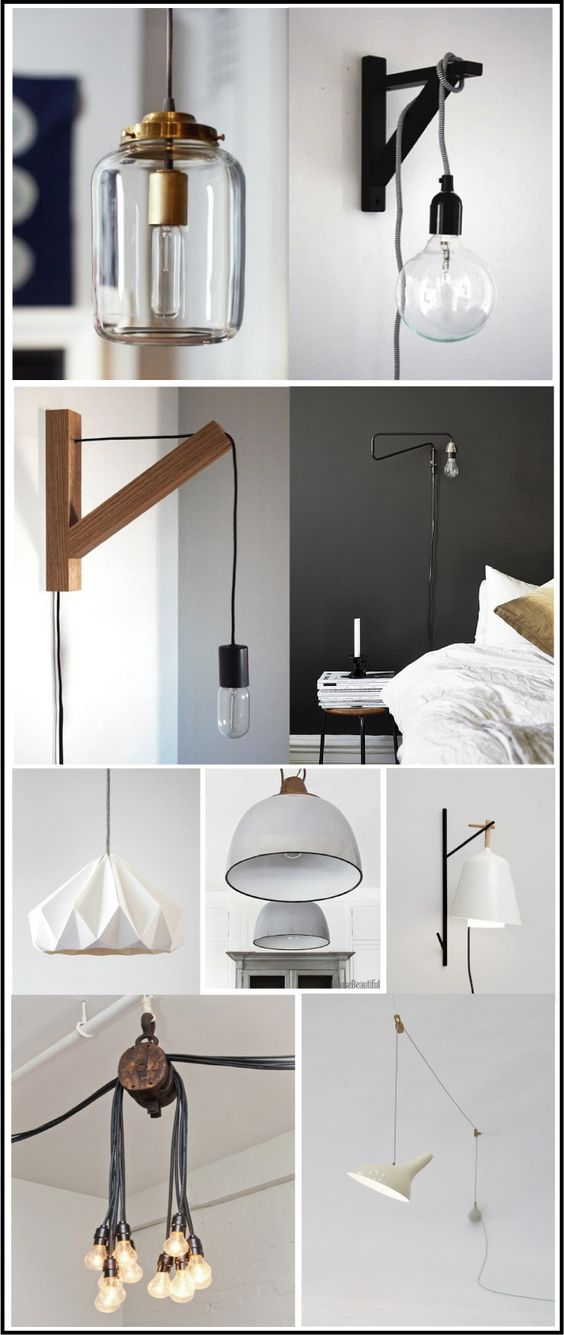 baladeuses et lampes industrielles chiara stella home lamp pinterest lights salons and. Black Bedroom Furniture Sets. Home Design Ideas