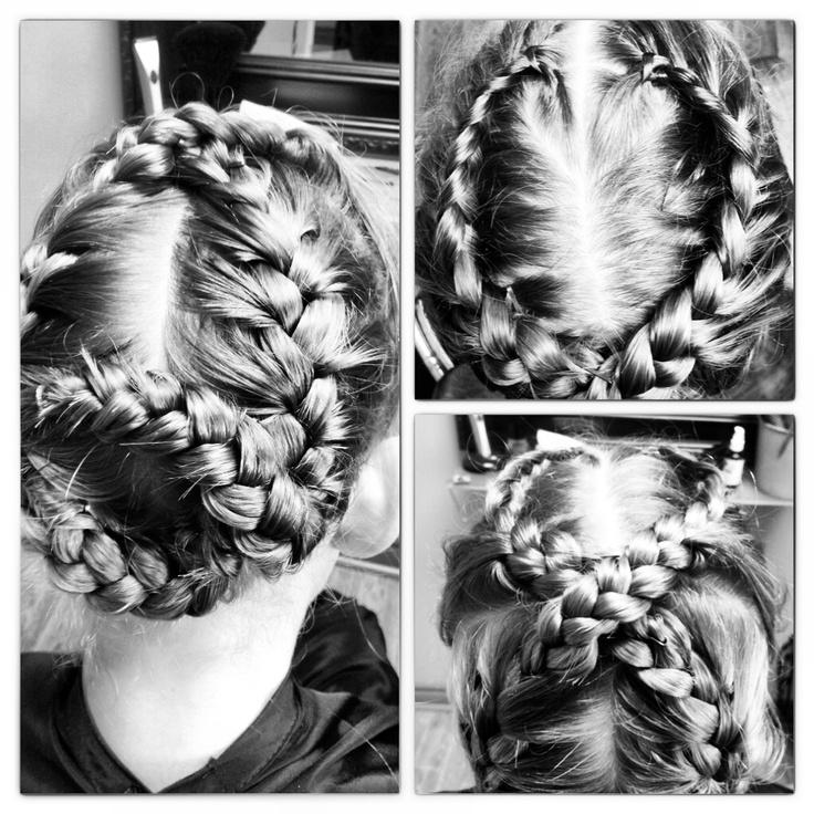 Vday braids XO