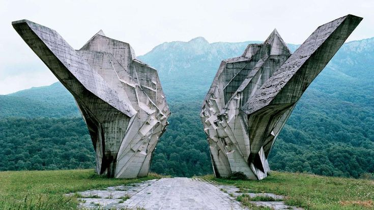 Remarkable Yugoslavian Monuments That Could Be From A Sci-Fi Film image