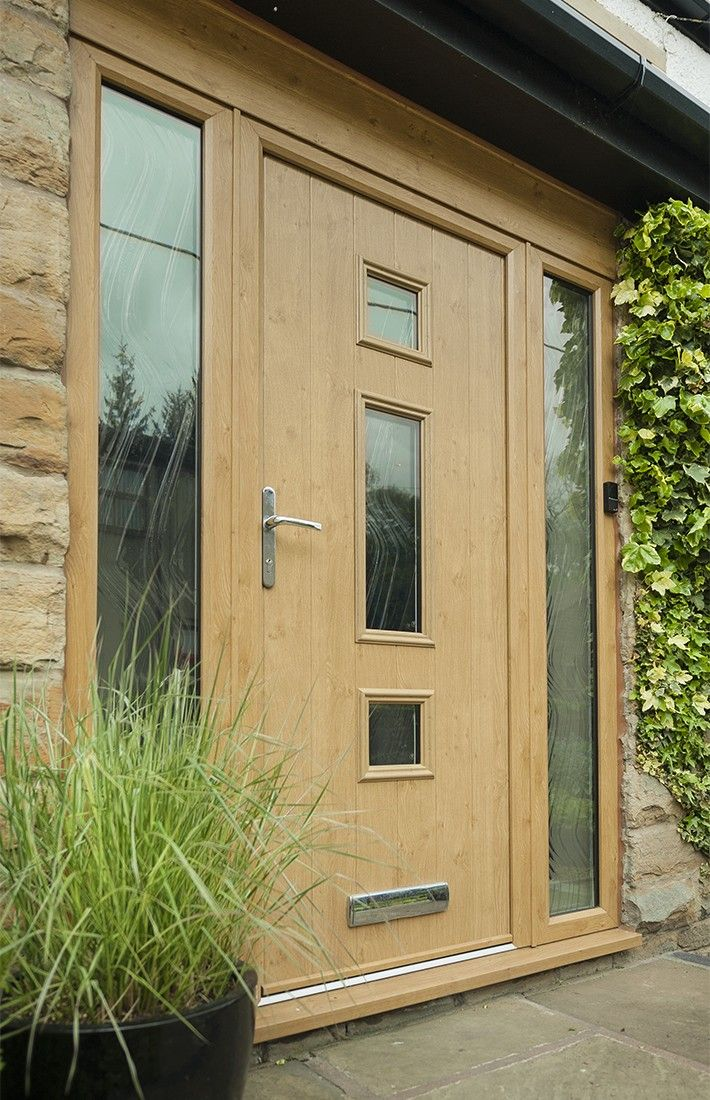 Charming Light Oak Composite Front Door Part - 1: Not Sure What Composite Door You Want? Take A Look At Some Of The Beautiful Composite  Door Installations That Solidor Has Done And Get Inspired Online Here.