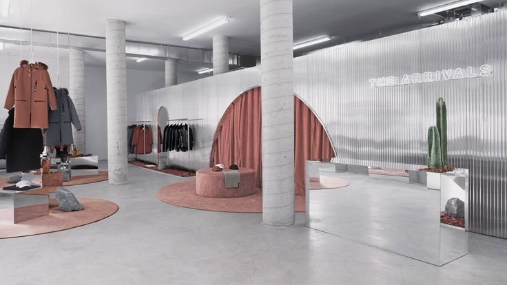 """The Arrivals opens """"alien"""" fashion retail spaces in three US cities"""