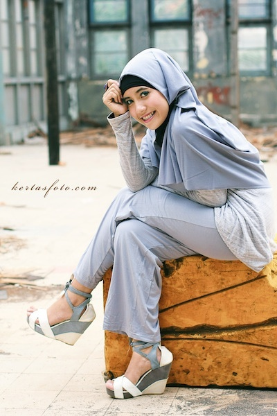 Dewi in Hijab