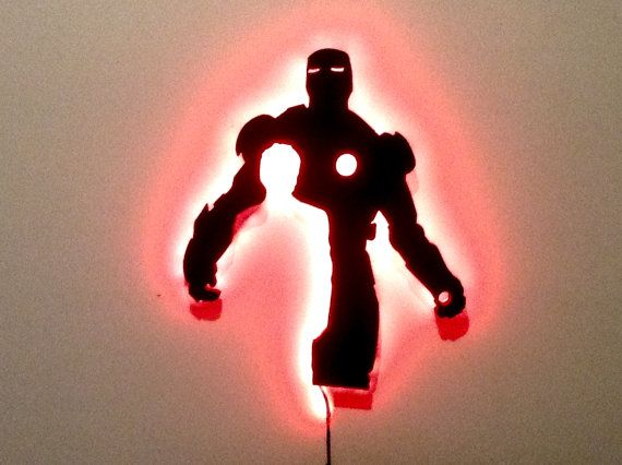 Hey, I found this really awesome Etsy listing at https://www.etsy.com/listing/233799046/led-iron-man-nighlight-marvel-hero-the