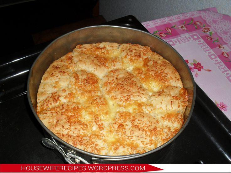 """""""Обезьяний хлеб"""" с сыром и чесноком"""