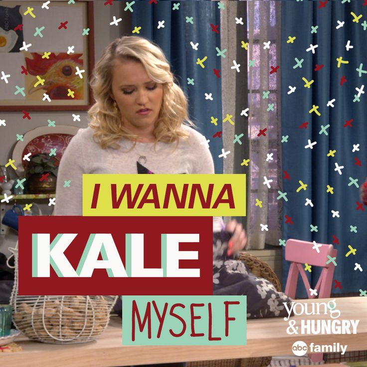 That's not good! | Young & Hungry Quotes