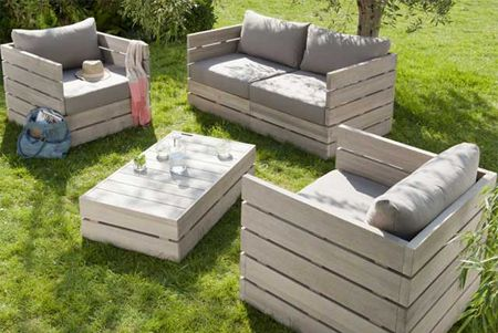 With easy access to tools and materials for DIY enthusiasts, making outdoor garden furniture has become a growing trend that many like to ta...