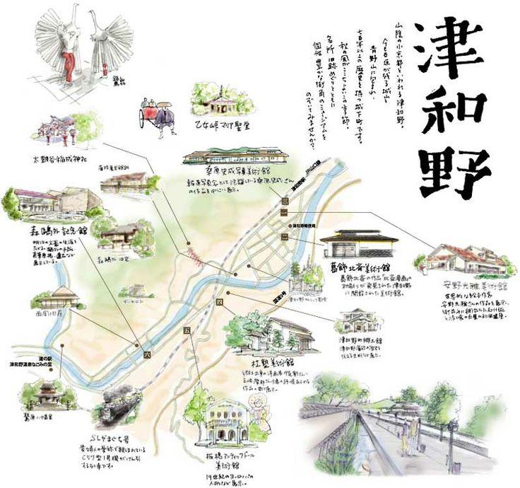津和野マップ Tswano