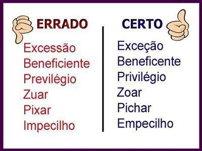 """Dica de Português:''Excessão ou Exceção""""?"""