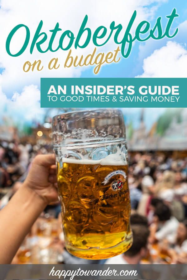 Oktoberfest 2019 on a Budget: Tips to Save on Hotels, Beer & More
