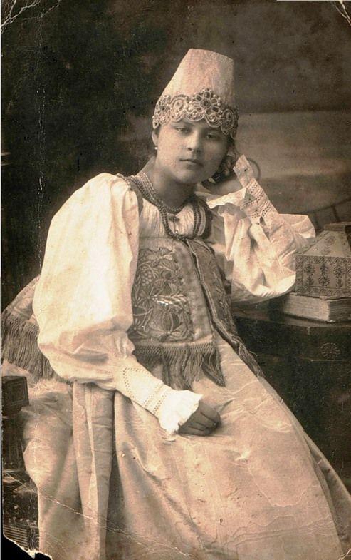 russian national dress