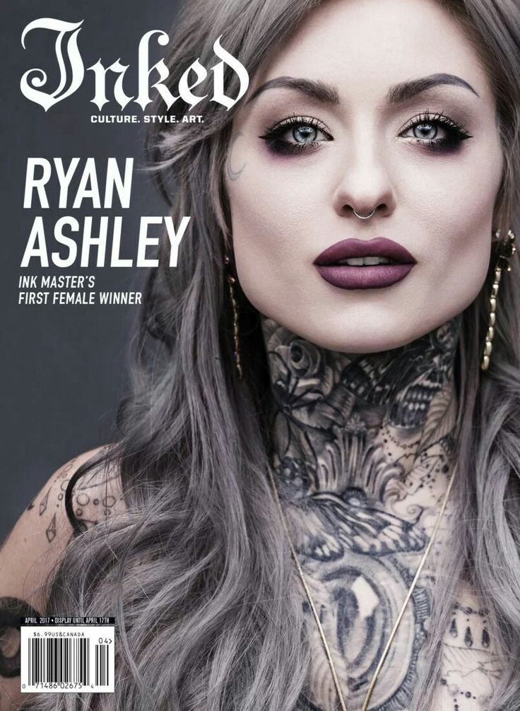 Pin by Vivian Raven on beauty to sort Ryan ashley tattoo