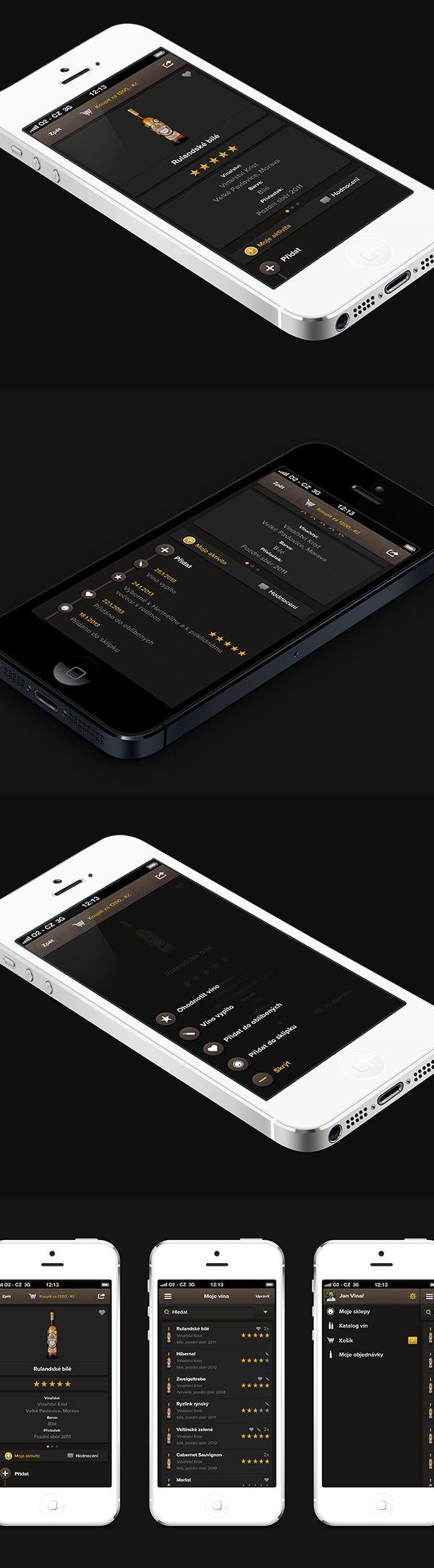 Wine Mobile App.