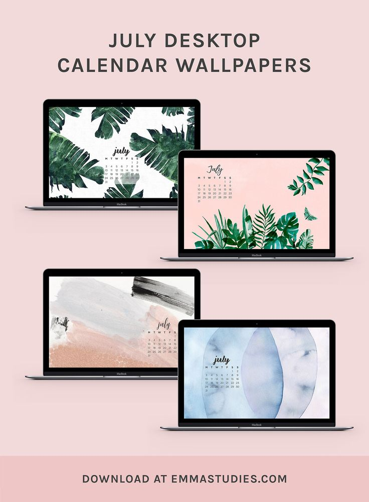 Calendar Wallpaper Originals : July calendar desktop wallpapers from designlovefestwith